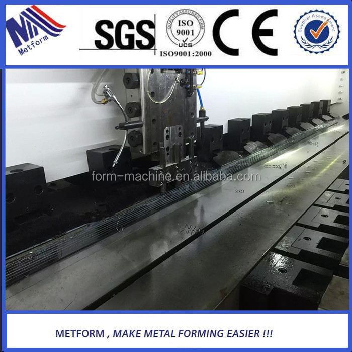 CNC Sheet Metal slotting machine for V-Groove