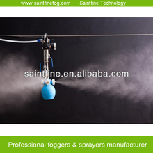 High efficiency misting system for rat fumigation