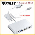 Latest Product USB Type c hub 4 ports USB 3.0 HUB with PD for Lumia 950 XL mobile