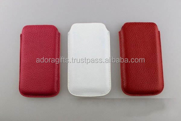 Manufacturer Of PU Leather Cell Phone Case / New Trend Mobile Phone Cover Highly Designed For Daily Use