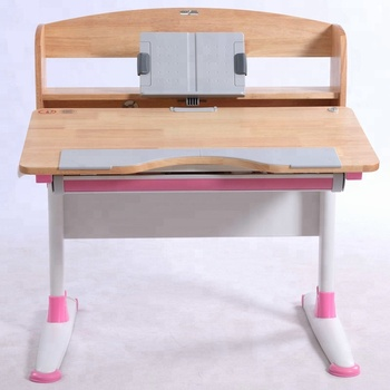 GMYD Height Adjustable Wooden Table