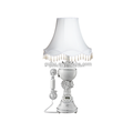 American antique white minimalist table lamp table lamp phone telephone Alice