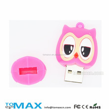 2015 new promotion owl usb flash drives bulk cheap for reseller accept paypal
