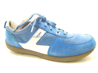 Manufacture factory New Men's Blucher Blue Leather Sport Sneaker Shoes Size 39-44