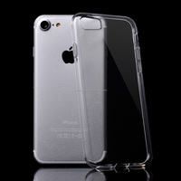 Top Quality Transparent Cover Clear Soft Gel TPU Phone Back Case for iphone 7
