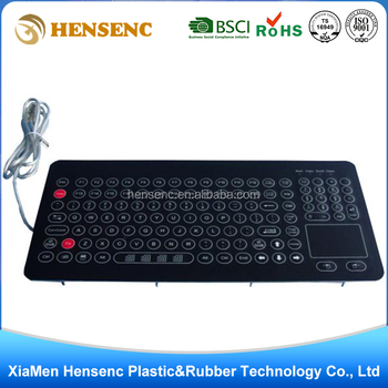 OEM Professional Customized High Quality computer keyboard membrane switch keypad