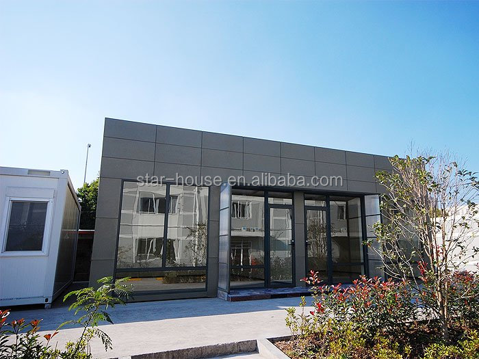 Prefabricated 20ft container homes for hotel/office/shop/apartment/villa