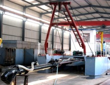 sand dredger machine mud dredge vessel equipment