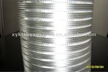 made in china simi-rigid aluminum flexible duct pipe oem