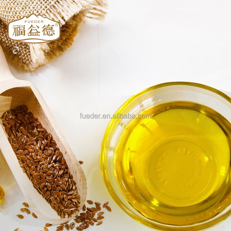 High Quality and Pure Natural Health-care Flax Seed Oil plastic bottle kota kinabalu pig fat oil