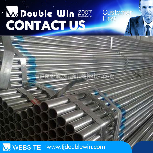 My alibaba express price of galvanized pipe, erw steel pipe