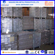 Chinese new stackable storage wire mesh container