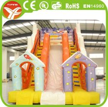 Fun jumping large inflatable children slide for kids