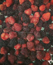 Frozen Mixture Strawberry and Blackberry