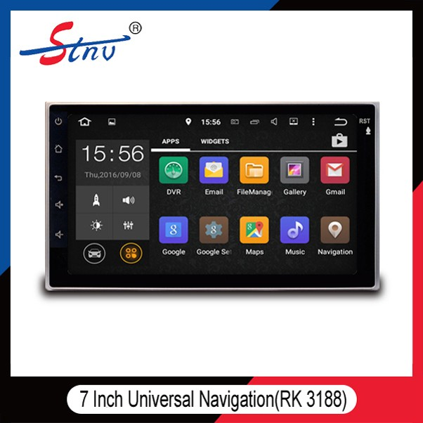 "Android 5.1.1 rk3188 7"" universal touch screen car dvd player head Unit Multimedia auto system upgrade Mirror Link Car Stereo"