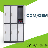 Gym locker clothing steel clothes closet metal wardrobe cabinet