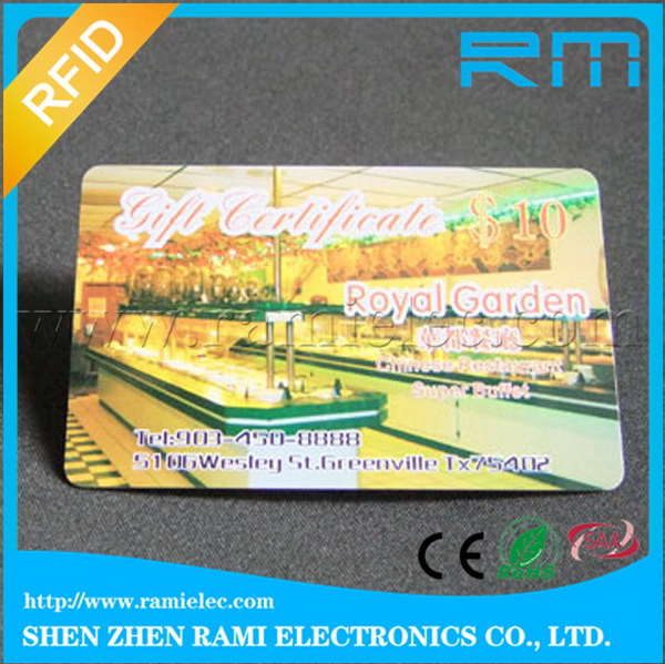 Factory classical nfc business card mf rfid card