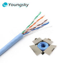 Braided Ethernet Cable Reel Double Cat5e UTP Network Cable