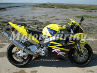 For Honda CBR900RR 2002 2003 CBR 954RR CBR900RR 02 03 CBR954 RR body kit yellow black CBR954