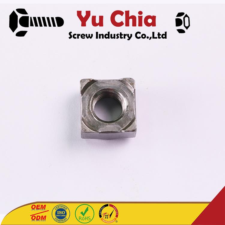 OEM ODM Aluminium Stud-Welding High Strength Square Weld Nut Steel Weld Nut with great price