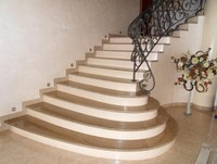 Factory supply eco-friendly granite and marble stairs