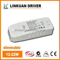 constant current triac dimmable led driver 700ma 25-42V for LED downlight & panel light model LKAD022D
