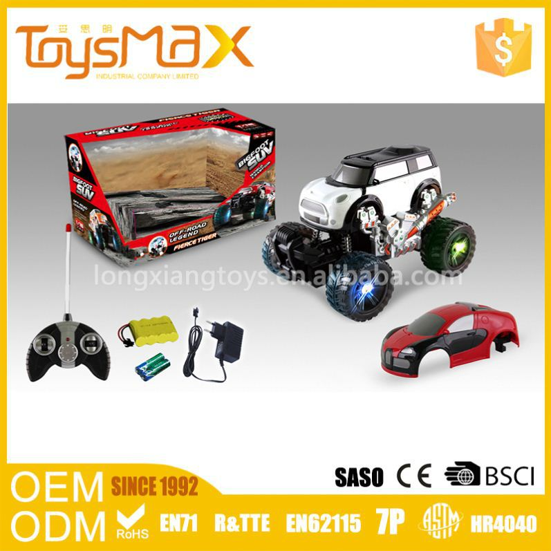 2016 Top Selling Unisex Plastic 1/16 Scale Gas Powered RC Car