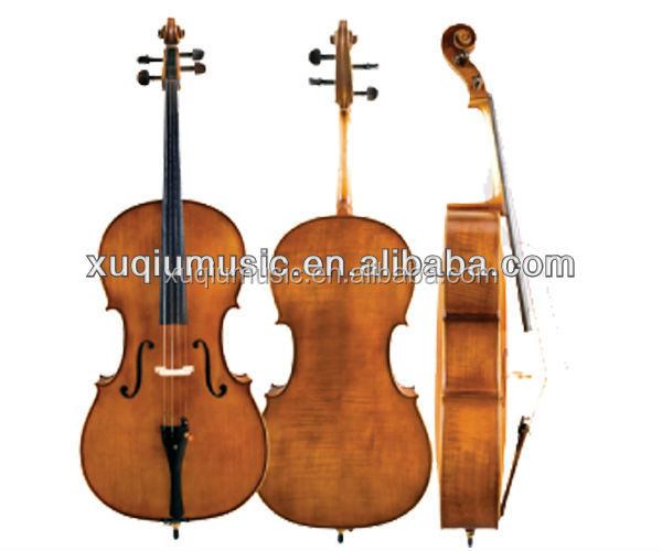 SNCL102 Flame Maple Cello/Cello with Ebony Parts
