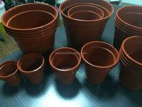 mold for mini terracotta flower pot