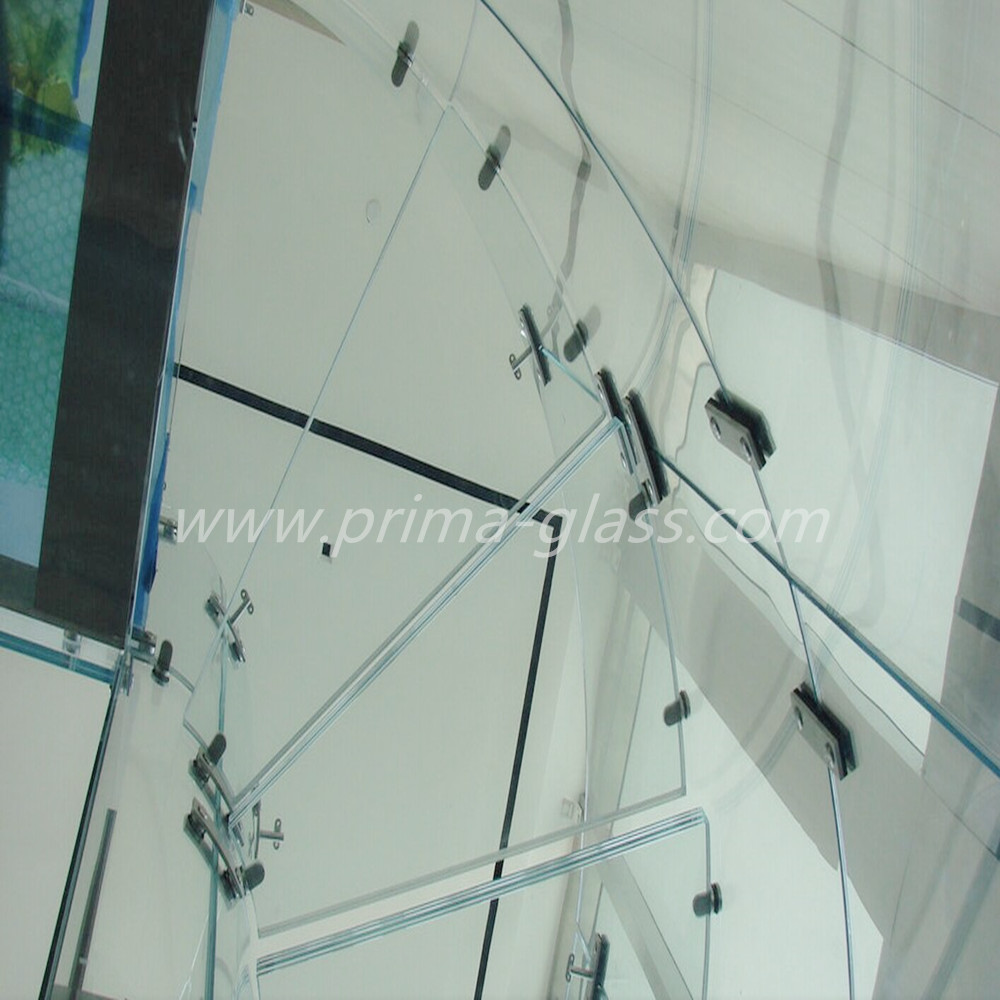 Prima Dupont SentryGlas interlayer laminated glass for curtain walls