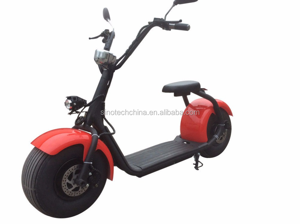 hot sale Citycoco 60V 800W two wheels big rechargeable scooter