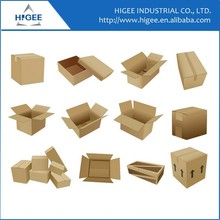 Complete line from paper to corrugated cardboard box making box carton packing machine