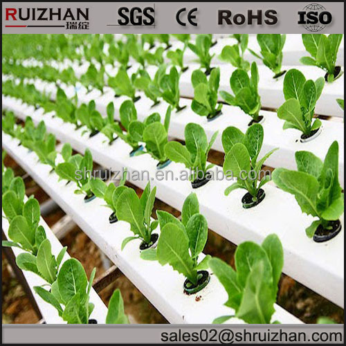 extrusion trunking for hydroponics nutrient growing systems