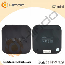 Hot selling Android 4.4 RK3188 Quad core Minix NEO X7 mini Smart TV BOX 2G+8G Minix NEO X7 mini smart media player