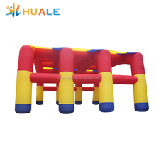 Huale 15x4x8m commercial china outdoor beach garage wedding large car event cube party price camping inflatable tent