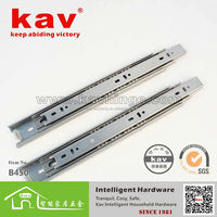 45mm wide stainless steel ball bearing furniture drawer guides