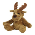 Custom christmas moose stuffed plush animal toys