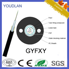 Best cheap single mode outdoor Fiber optice cable for GYFXY