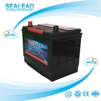 factory price high cca 66ah 12V sealed lead acid maintenance free car battery