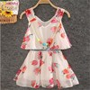 Latest Children Frocks Design Chiffon Dresses,Duibai Fashion Girls Dresses Age 10