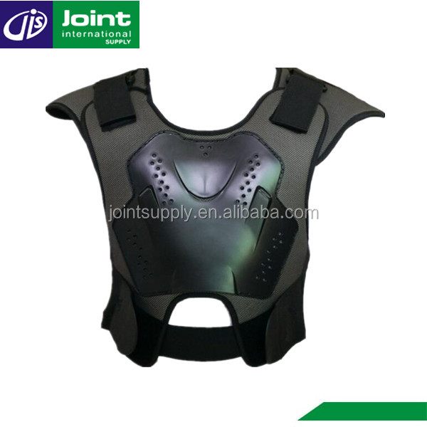 Black PP Material Motorcycle Motocross Body Armor Vest