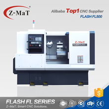 Chinese top supplier FL500 powerful flat bed high precision lathe machine cnc