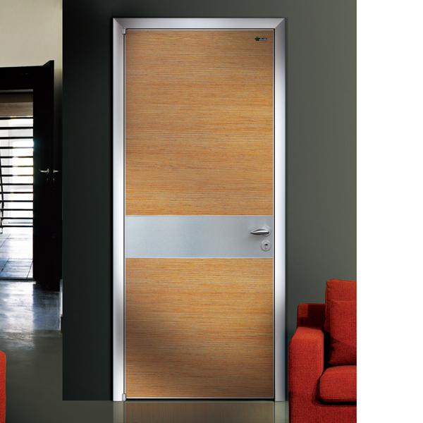 Latest design aluminum wooden door single door buy for Latest single door design