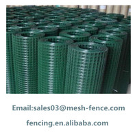 "1/2"" x 1/2"" Pvc coated welded wire mesh with low price"