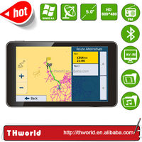 SHENZHEN FACTORY NEW DESIGN 5 INCH CAR GPS WITH LATEST SOUTH AMERICA MAP