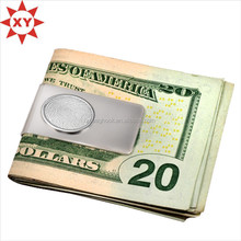 Discount price sterling silver money clip for promotion gifts