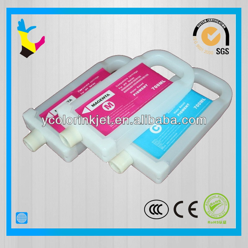 PFI 701 Refillable ink cartridge for Canon IPF8000/9000/8000s/9000s/8100/9100