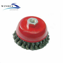 Cleaning tools Twisted Knot wire Bowl cup brush 65mm,80mm,100mm