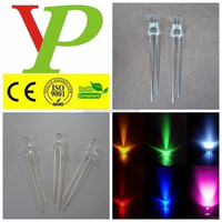 Hot sale 5mm electronic candle warm white led ce&rohs