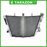 Aluminum alloy motorcycle radiator for Suzuki GSXR 1000